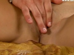 Legal Age Teenager widens her lovely legs for hard dick of her boyfriend